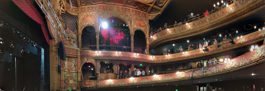 Hackney Empire - interno